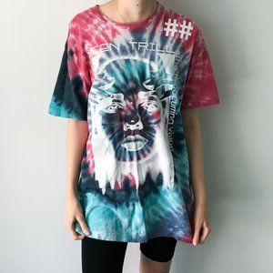 Been Trill Dye Graphic Tee Shirt Vision 2 Sided M
